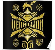 Vermillion Poster