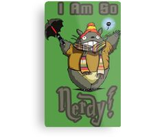 I am so NERDY! Metal Print