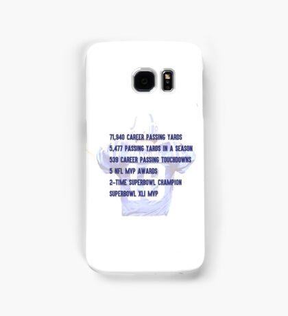 Peyton Manning Statistics Retirement Colts Samsung Galaxy Case/Skin