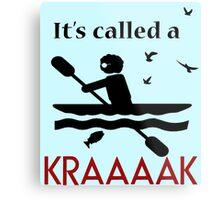 Check it Out with Dr. Steve Brule- Kayak/Kraaaak Metal Print