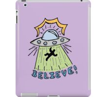 Abduction Believe iPad Case/Skin