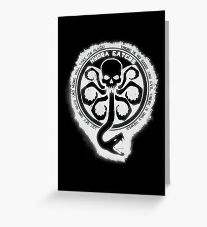 Hydra Eaters Greeting Card