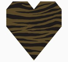 0261 Field Drab Tiger One Piece - Short Sleeve