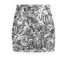 Flowers Design Mini Skirt