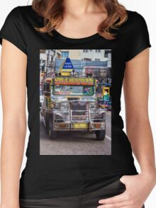 Classic Jeepney Women's Fitted Scoop T-Shirt