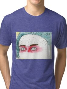 the Eyes of a Fighter Tri-blend T-Shirt