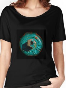 Round Rusty Object Women's Relaxed Fit T-Shirt