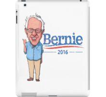 Bernie Sanders Cartoon Vintage Burnout Graphic Democratic Socialism Funny Feel The Bern iPad Case/Skin