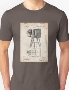 1885 Camera Invention Patent Art Unisex T-Shirt