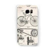 1890 Bicycle Invention Patent Art Samsung Galaxy Case/Skin