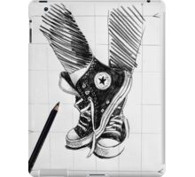 sketch for ink drawing iPad Case/Skin