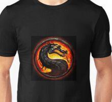 HOT & NEW! Mortal Kombat Fire Dragon Game Gamer Gaming Anime Cosplay Gift Unisex T-Shirt