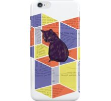 The illusion of the Box Cat iPhone Case/Skin