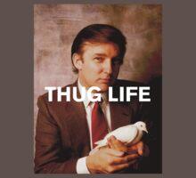 Throwback - Donald Trump One Piece - Short Sleeve