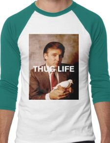 Throwback - Donald Trump Men's Baseball ¾ T-Shirt