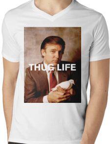Throwback - Donald Trump Mens V-Neck T-Shirt