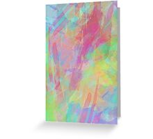 Colorful Rainbow Watercolor Art Gift (4) Greeting Card