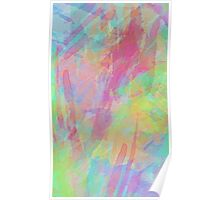 Colorful Rainbow Watercolor Art Gift (4) Poster