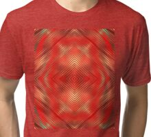 Red Mirror Tri-blend T-Shirt