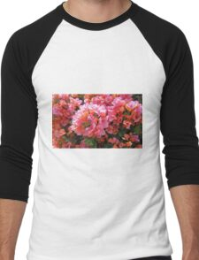 BOUGAINVILLEA BUSH Men's Baseball ¾ T-Shirt