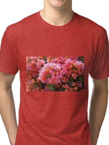 BOUGAINVILLEA BUSH Tri-blend T-Shirt