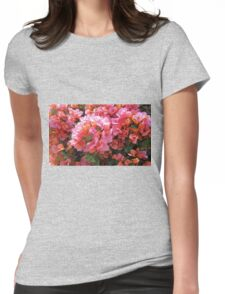 BOUGAINVILLEA BUSH Womens Fitted T-Shirt