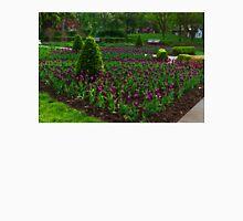 Royal Purple Tulips Unisex T-Shirt
