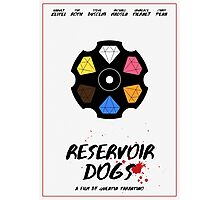 Reservoir Dogs film poster Photographic Print