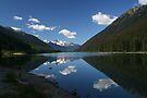 B.C. Mountain Lake II by Allen Lucas