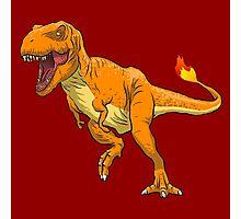 Charmander T-Rex Photographic Print