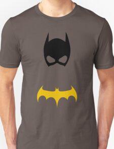 Batgirl Mask and emblem T-Shirt