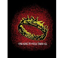 One King To Rule Them All Photographic Print