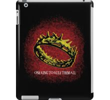 One King To Rule Them All iPad Case/Skin
