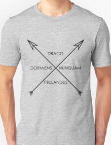 A sleeping dragon... T-Shirt