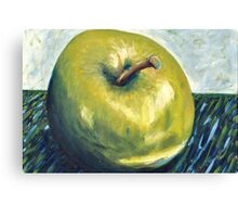 Granny Smith apple Canvas Print