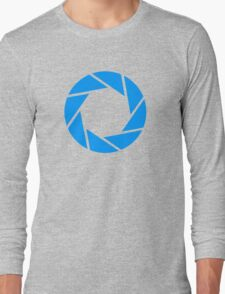 Aperture, for when you wanna do some science Long Sleeve T-Shirt