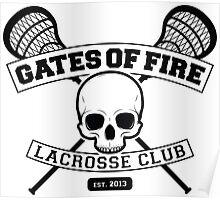 Gates Of Fire Est. 2013 Poster