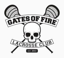 Gates Of Fire Est. 2013 Kids Tee