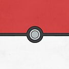Pokemon Pokeball Minimalism Design Kanto Pikachu by Jorden Tually