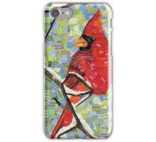 Majestic Red Cardinal iPhone Case/Skin