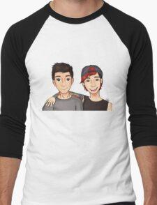 Tyler and Josh Men's Baseball ¾ T-Shirt