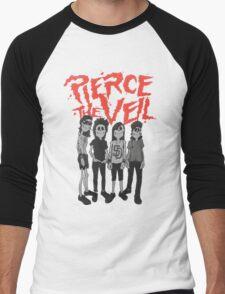 Pierce the Veil - Skeleton Band Men's Baseball ¾ T-Shirt