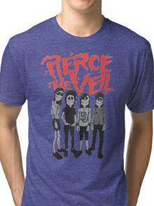 Pierce the Veil - Skeleton Band Tri-blend T-Shirt