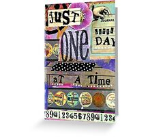 One Little Day Greeting Card