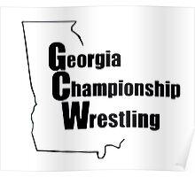 Georgia Championship Wrestling  Poster