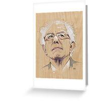 (Wood) Burnie Sanders Greeting Card