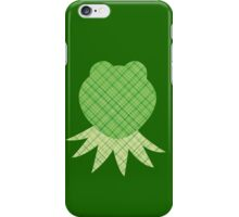 Scrapbook Kermit iPhone Case/Skin