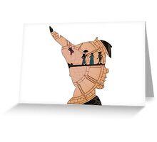 Peter Pan on Big Ben Greeting Card