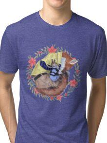 Sleeping on the job Tri-blend T-Shirt