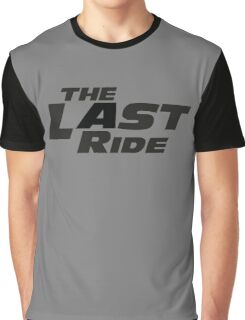 The Last Ride Graphic T-Shirt